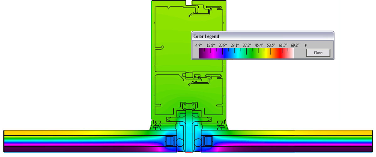 Larson Engineering Curtain Wall Service Thermal Analysis